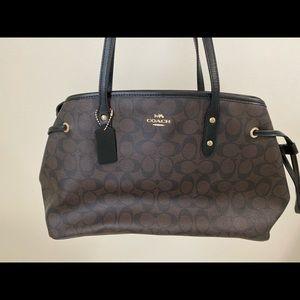 Coach Carryall with drawstring handbag
